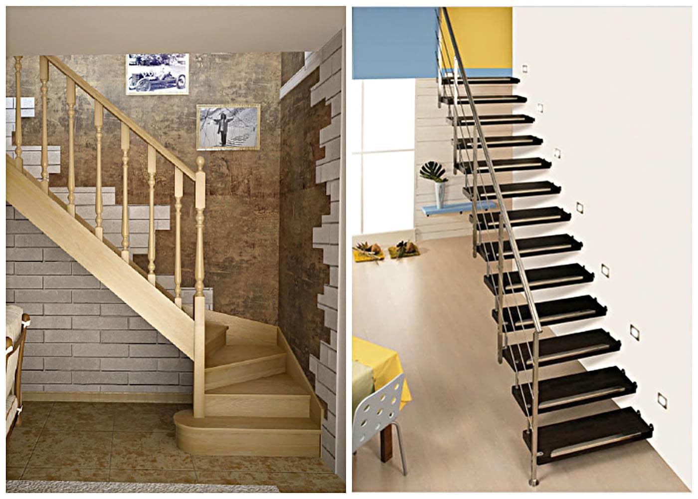 Фото лестниц на второй этаж в частном доме своими руками расчет фото 15