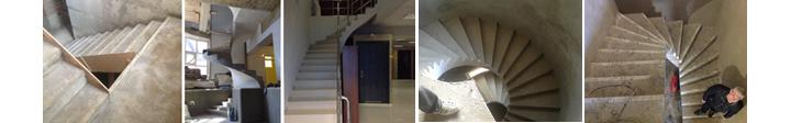 Фото монолитных лестниц разного вида