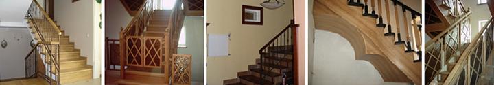 Фото монолитных лестниц с разной формой и отделкой