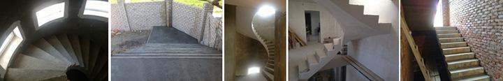 Фото лестниц разной конфигурации