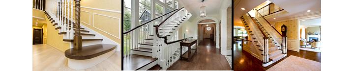 Фото помещений с прямыми лестницами