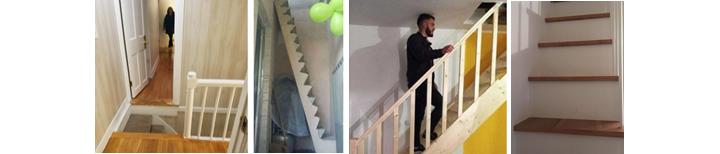 Картинки, демонстрирующие травмоопасные лестницы